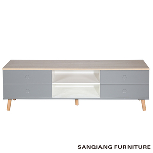 SANQIANG wooden led tv stand furniture tv cabinet with showcase tv stand furniture
