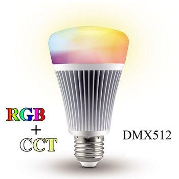 Wireless Dmx Led Light Bulb E27 Rgb