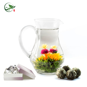 Japanese Caffeine Free Teabloom Flowering Blooming flower Tea Balls Pot Leaves Target in Bulk for Gift Box