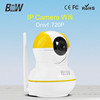 Wireless security camera system of home automation support video from smart phone