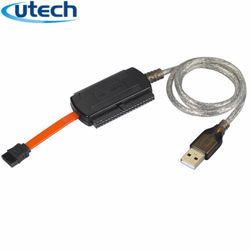 Utechcables Usb To Ide Sata Cable Converter 2 5/3 5/inch Hard Drive With  Power Supply - Buy Usb To Ide Sata Cable,Usb To Sata Power Adapter,Usb 3 0  To