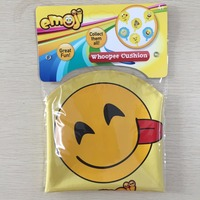 April All Fools' Day Inflatable Fart Toy Emoji Whoopee Cushion for Kids