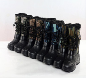 Mens Waterproof Safety Hunting Fishing Winter Rain Snow Safety High Boots Fashion Wholesale