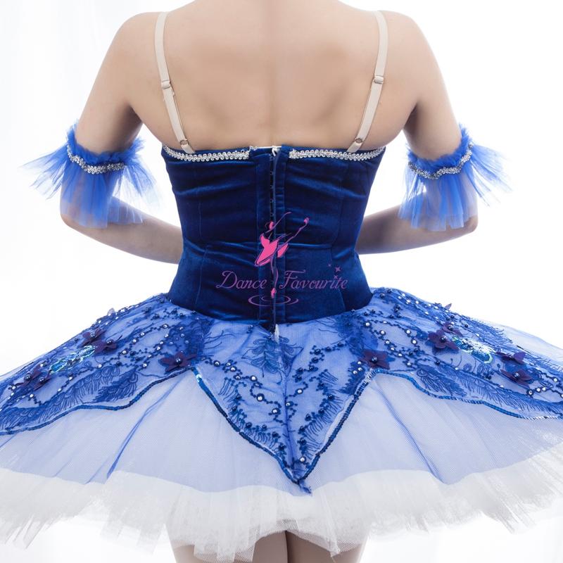 428a0148a712 Customize Ballerina Dance Show Costume Blue Bird and La Fille du Pharaon Classical  Tutu Dress for