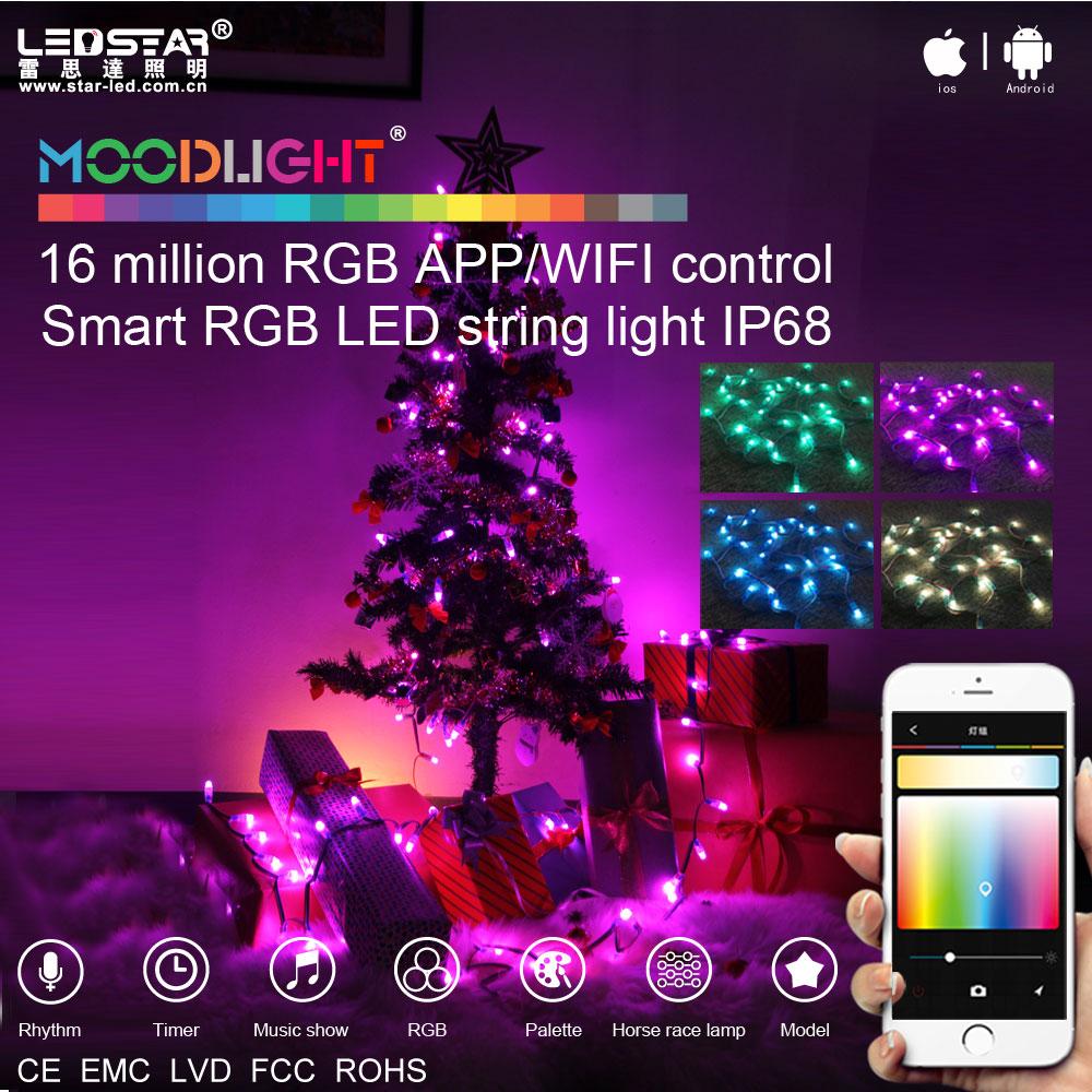 smart programmable led christmas lights rgb color changing led christmas lights waterproof buy programmable led christmas lightscolor changing led