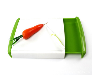 creative cutting chopping board with tray drawer