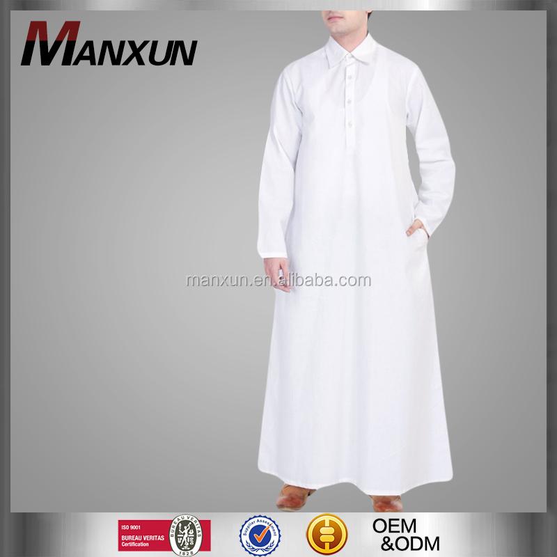 Most Popular Isamic Clothing Arab Thobe For Men Shirting Collar ...