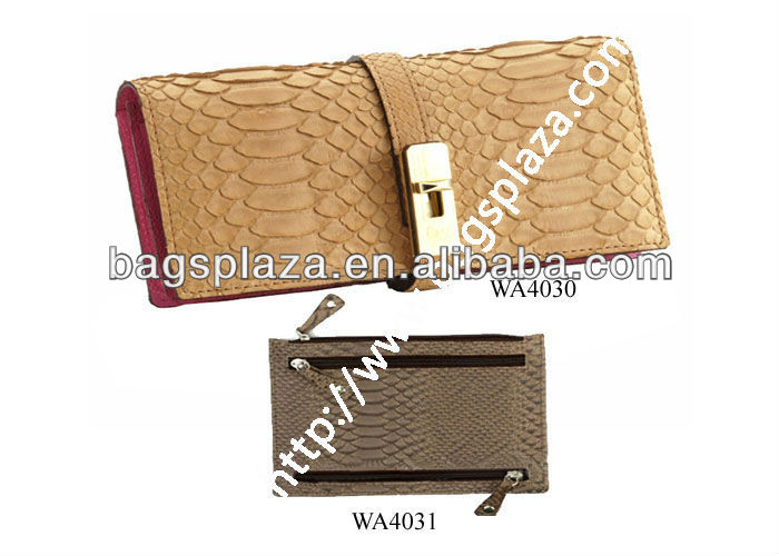 Top Quality PU Leather Women New Design Wallet WA4030