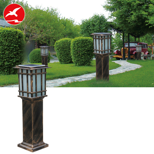 aluminum housing decorative pathway ip65 high lumen outdoor solar led lawn garden light for sale