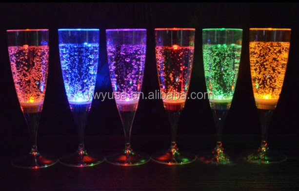 New luminous glass Wholesale flash led Luminous cup flash drink beer cup