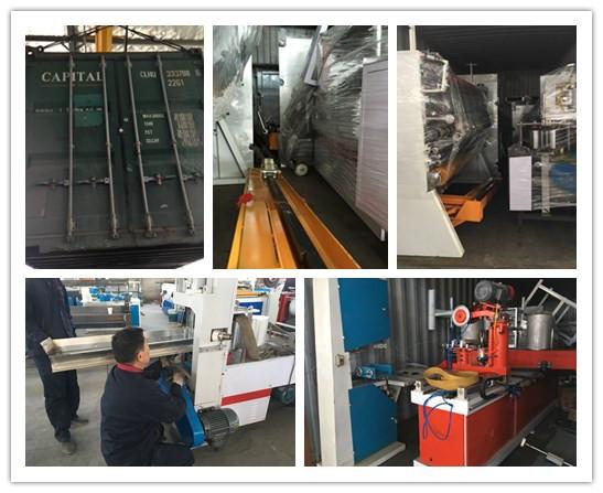 Kumaş Rolling İçin Yüksek Kalite Kağıt Çekirdek / Karton Tüp Yapma Makinesi