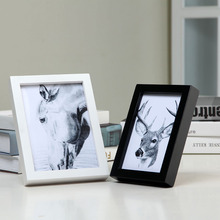 Wholesale Cheap A4 Plastic Photo Frame, Customized Size Low MOQ Plastic Photo Frame
