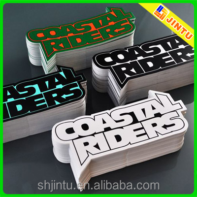 Full Color Cheap Pvc Sticker PrintingVinyl Die Cut Car Decal