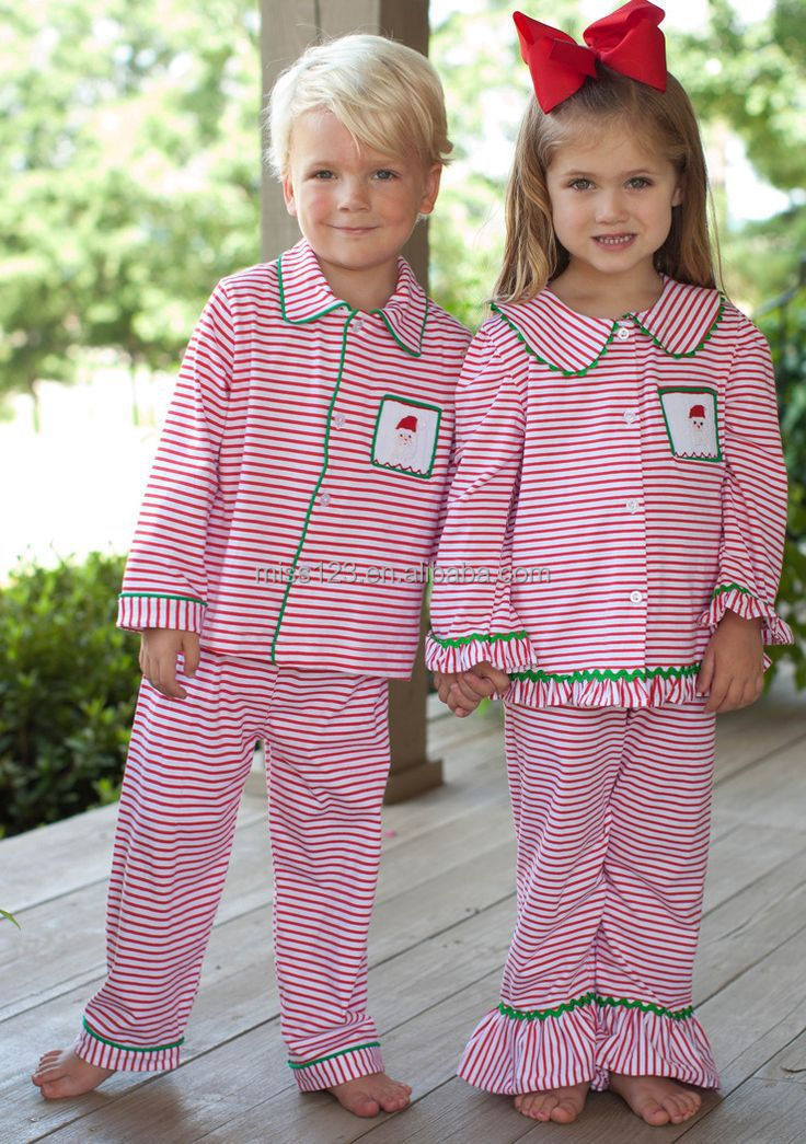 High Quality Sleepwear Women's Flannel Knit Pajama Sets Baby Girls ...