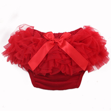 Baby Cotton Bloomers Diaper Cover Newborn Cute Tutu Ruffled Panties 7 Colors Baby Girls Lace Crumple
