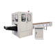 Toilet paper roll cutter and log saw paper roll splitter machine
