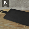 Wholesale indian restaurant melamine sushi black slate dish