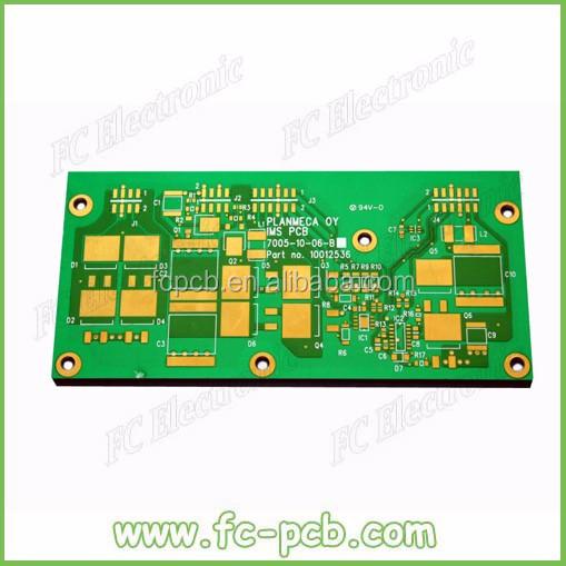 Aluminium Electronic Pcb For Smd-2835 Led Round Smd Pcb