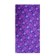 Flourshing flower pattern blue background color custom size square headscarf with low price