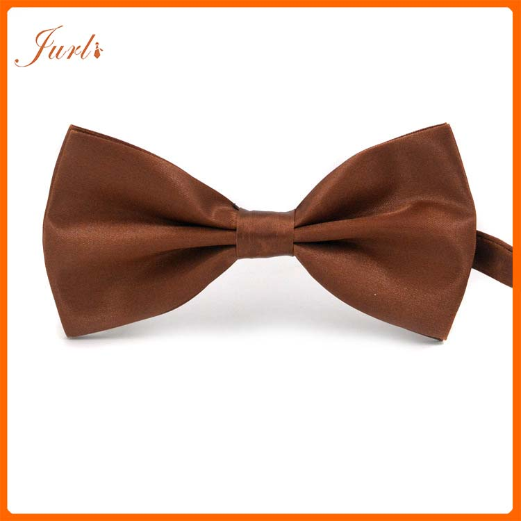 Formal Brown Neck Bow Tie For Men Wholesale