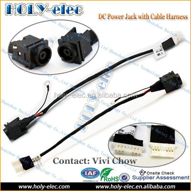 Repairment new genuine for SONY Vaio VPCEG VPC-EG P/N 50.4MP02.001 laptop notebook dc power jack with cable (PJ420)