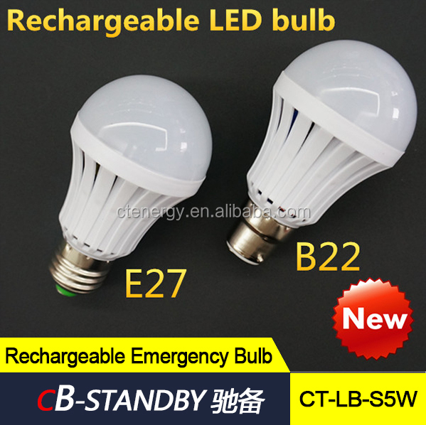 Battery Type Emergency Led Bulb Led Bulb B22 B22 Led Lamp Bulb ...