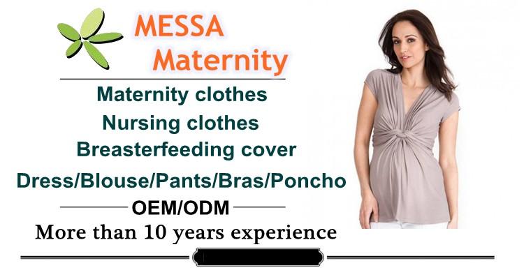 Oem Fashion Maternity Wear Long-sleeve Knit Top,Nursing Top Shirt ...