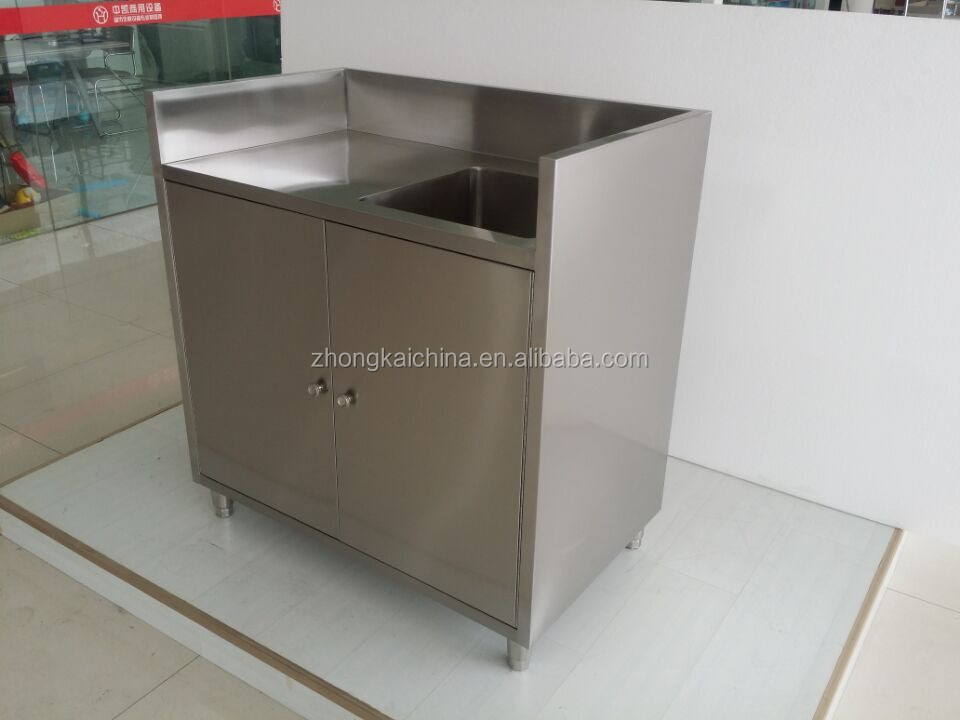 free standing cheap stainless steel commercial kitchen sink cabinet buy stainless steel. Black Bedroom Furniture Sets. Home Design Ideas