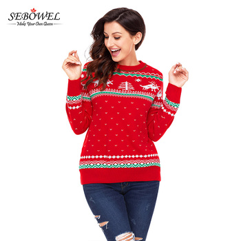 Women S Red Knitting Patterns Christmas Sweater Wholesaler Buy Christmas Sweater Wholesaler Knitting Patterns Sweater Women Knitting Sweater Product