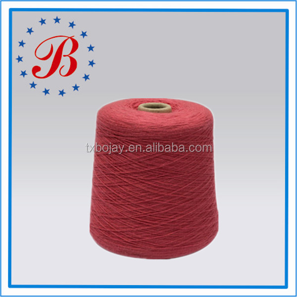 Good Supplier 100% Bulked Acrylic 24NM/2 Dyed Yarn for Knitting and Weaving