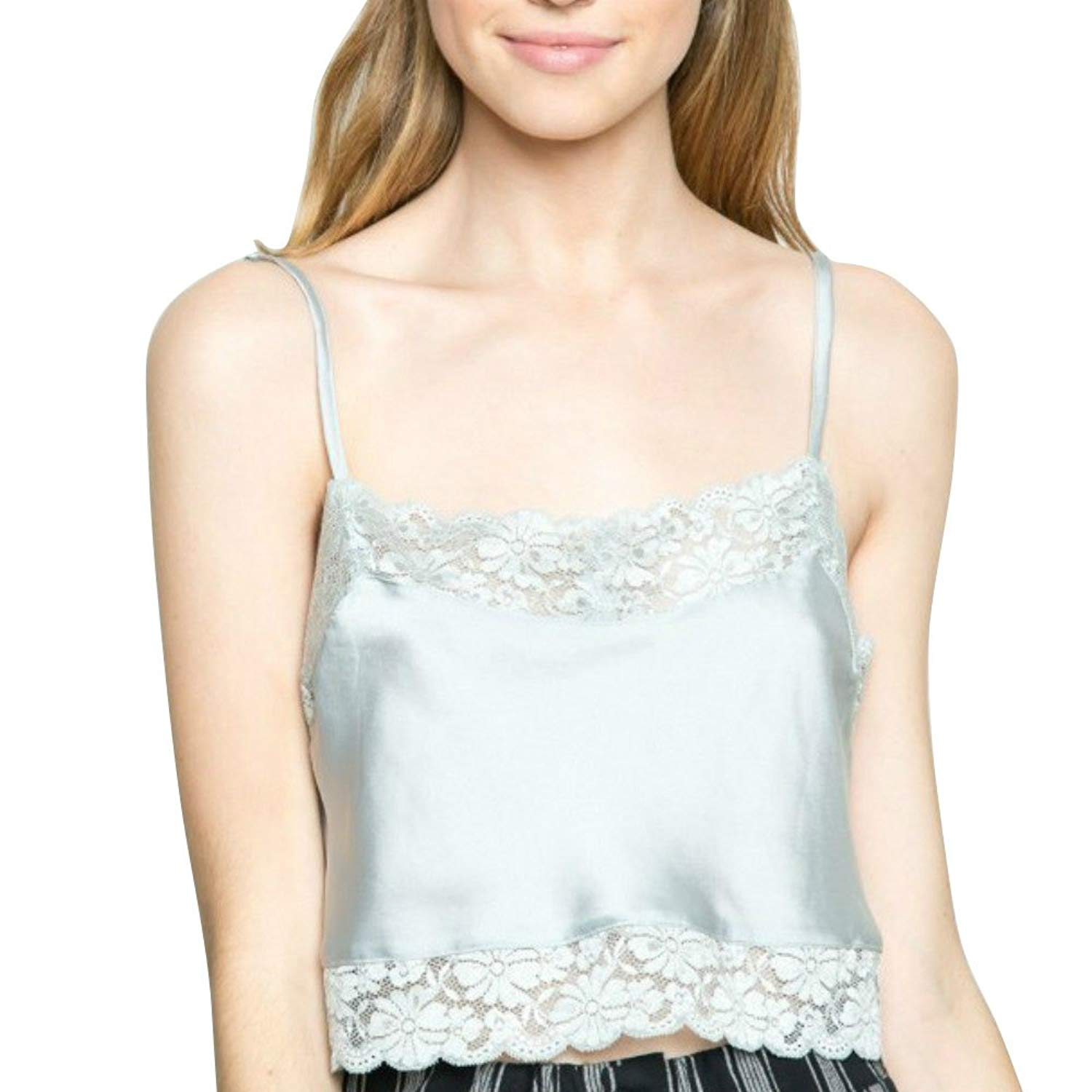 60e97041ce56e Get Quotations · Luckyauction Women s Sexy Lace Floral Bra Crop Bustier  Tank Top Vest Tops