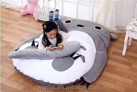 los m x m futon tatami totoro de peluche para dormir cama ocio piso