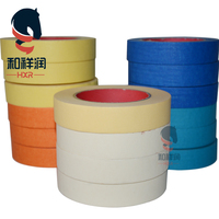 No residue easy mask heat resistant automotive painting masking tape