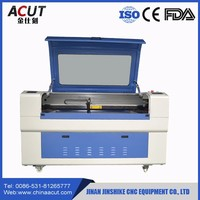 Wood Acrylic Plastic Fabric Leather Plywood CO2 Laser Cutter Price, Laser cutting machine Jinan