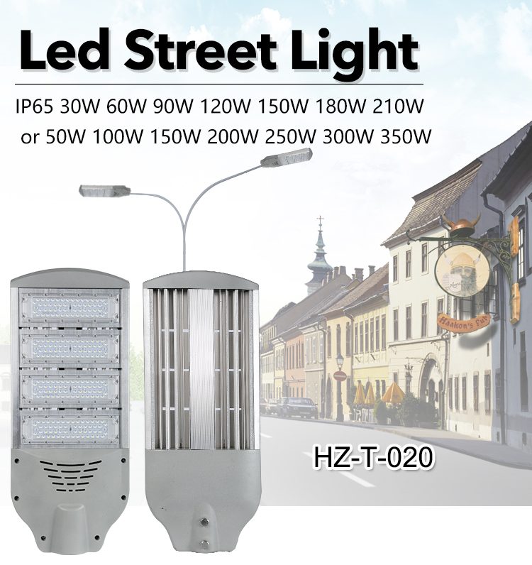 High power IP65 outdoor waterproof ip65 smd 30 50 60 90 100 120 w led street light
