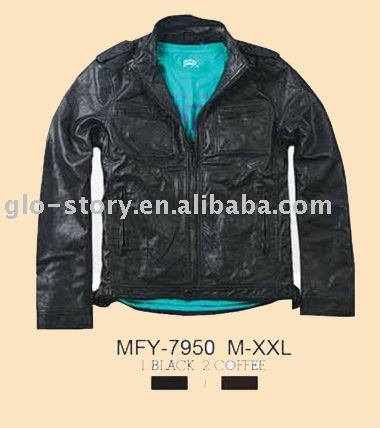 glo-story high school black leather jackets buyers