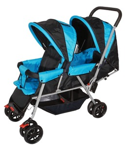 twin baby stroller / double baby pram for twins
