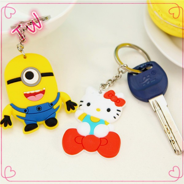 make your own logo keychain metal key chain ,famous brand cartoon keychain with good quality factory price