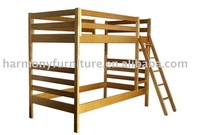 Double solid wood crib two layer home furniture