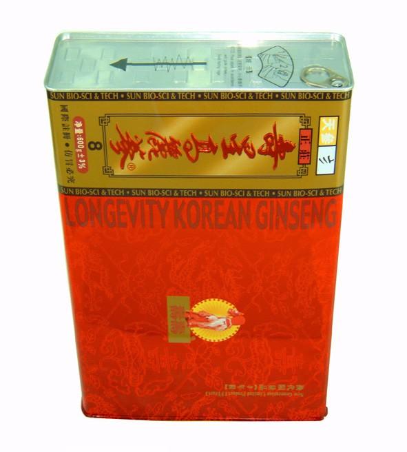Korean Red Ginseng Custom Tin Box With Easy Open End - Buy Custom Tin  Box,Tin Box,Tin Product on Alibaba com