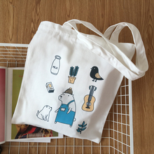 2017 Alibaba Trade Assurance Custom Printing Lady Plain White Cotton Canvas Tote Bag