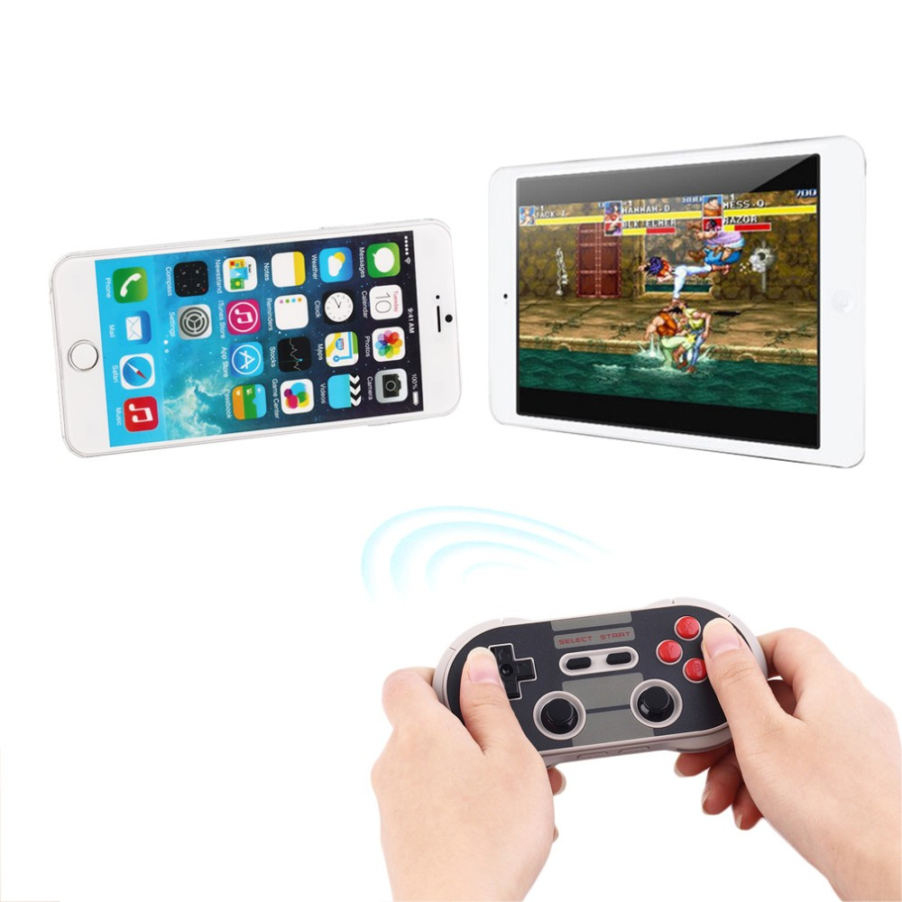 Portable Wireless Bluetooth Classic 8bitdo Nes30 Pro Game Controller Full  Buttons For Ios Android Gamepad Pc Mac Linux - Buy Wireless,Controller,For