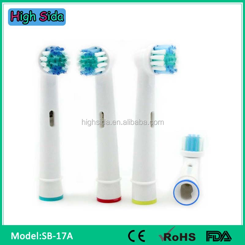 Factory Price Gum Electric Toothbrush Heads SB17A For Oral B