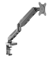 Omni Factory Mechanical Spring single Monitor Arm Mount, LCD Screen Monitor Arm