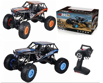 2.4Ghz 1:10 big food 4WD rocky rc car off-road rc truck buggy