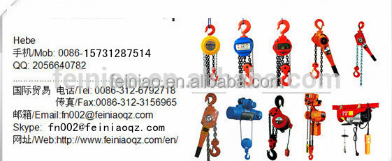 China Supplier 500kg-2tons Portable Mini Electric Lifting Crane ...