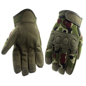 Camo Military Tactical Outdoor Cycling Police Airsoft Gloves