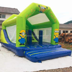 Kids Party Used Princess Inflatable Jumping Castle Bouncers Moon Jump House