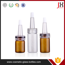 2ml borosilicate clear glass Antibiotic bottle/serum vial with flip off caps and/butyl rubber stopper