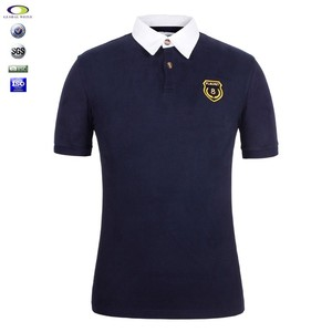 Custom Embroidered Men Polo T Shirt wholesale China